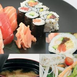 Menu midi Sushi SALADE ET SOUPE