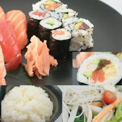 Menu midi Sushi SALADE ET RIZ