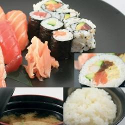 Menu midi Sushi SOUPE ET RIZ