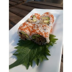CALIFORNIA SPICY TUNA TOBIKO
