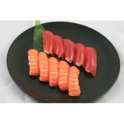5 Sushi Thon et 5 Sushi Saumon