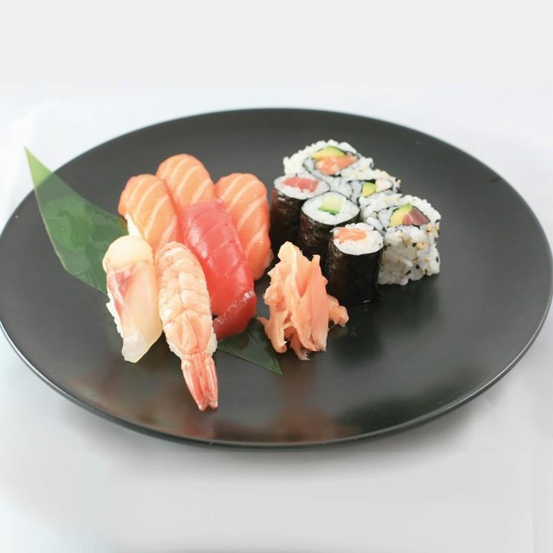 Trio 6 Sushi, 3 Maki, 3 California Mix